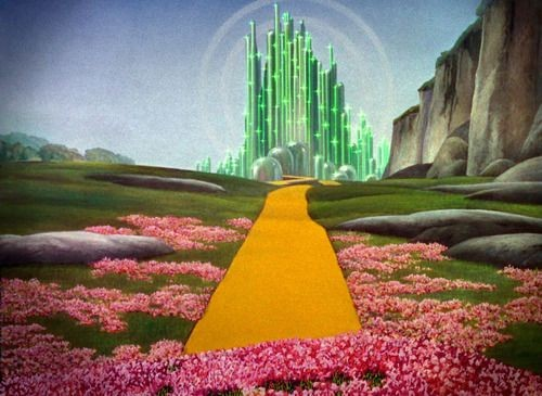 Is there a corollary between the yellow brick road and the ...  Is there a coro...